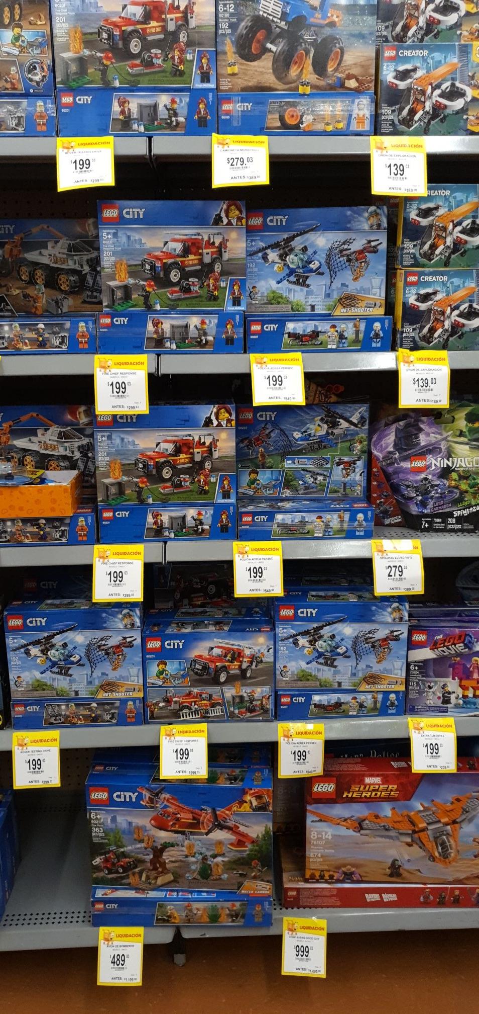 Walmart: 50% de Descuento en LEGO!