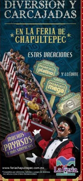 Promociones de Semana Santa y Pascua en La Feria de Chapultepec y Granja Las Américas