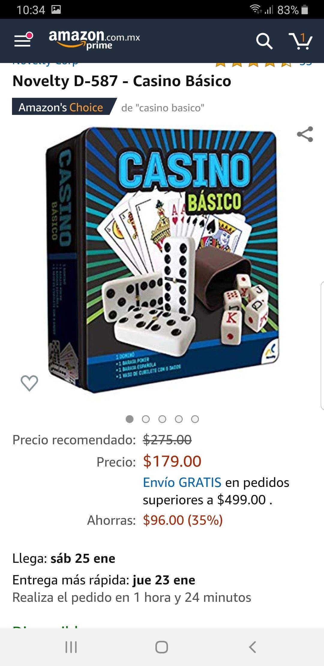 Amazon: Casino Básico