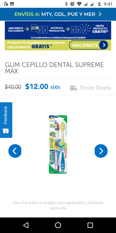 Farmacias San Pablo Gum Cepillo dental supreme max
