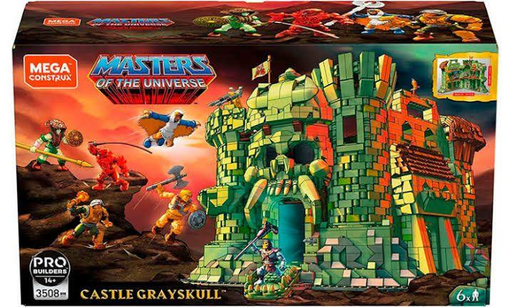 Amazon: Mega Construx Castillo Grayskull
