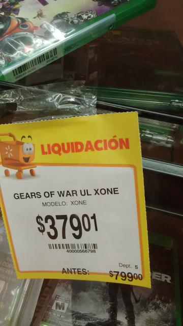 Walmart: Gears of War Ultimate de $799 a $379.01