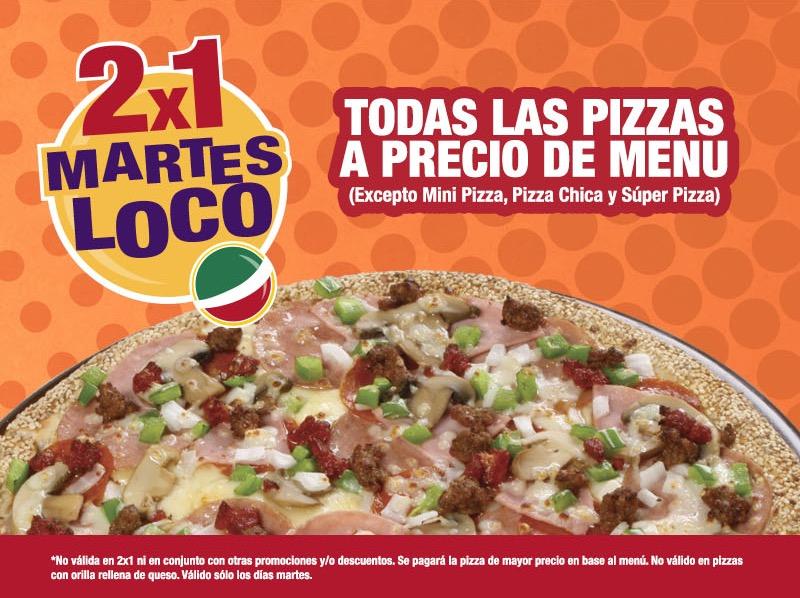 Benedetti's Pizza: 2x1 en todas las Pizzas los días Martes