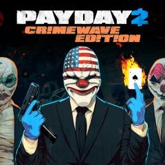 PSN: PAYDAY 2 CRIMEWAVE EDITION