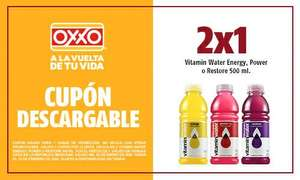Oxxo 2 x 1 Vitamin Water Energy 500 ml