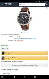 Amazon Reloj invicta