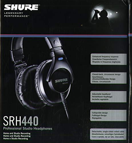 Amazon: Audifonos Shure SRH440