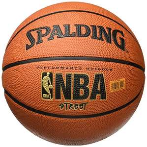 "Amazon: Spalding NBA Street Basketball - Official Size 7 (29.5"")"