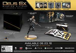 AMAZON USA. Deus Ex: Mankind Divided - Collector's Edition - Xbox One