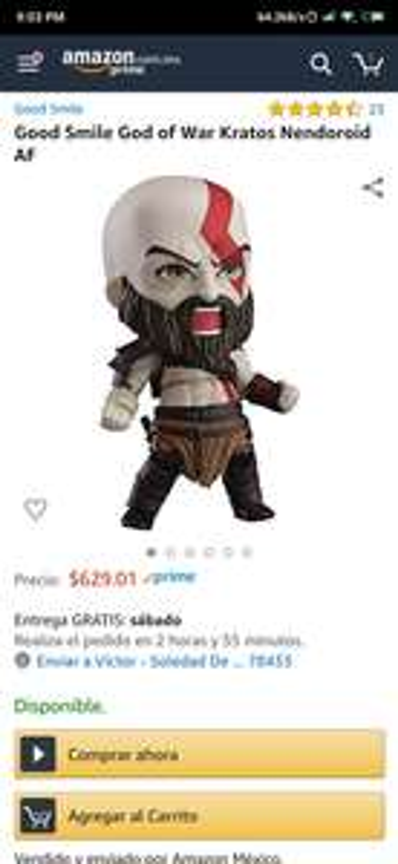 Amazon: Nendoroid Kratos God of War