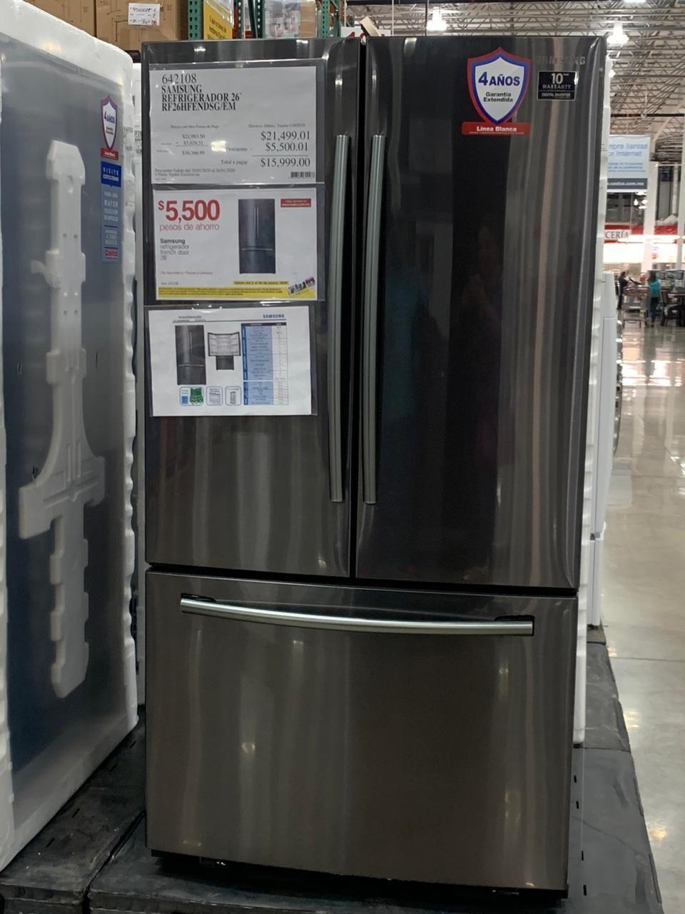 Costco Refrigerador Samsung 26 ' cupón 5500