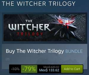 Steam: The Witcher Trilogy PC