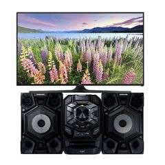 "Sanborns en línea : Televisión Samsung 55"" UN55J5300AFXZX + Minicomponente MXF630 a $11,999"