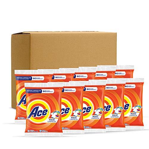 Amazon Ace Detergente En Polvo - 10 Unidades De 750g