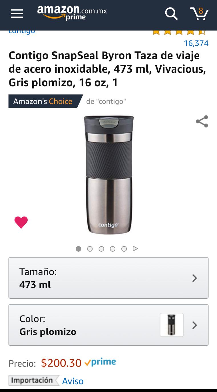 Amazon: Termo CONTIGO