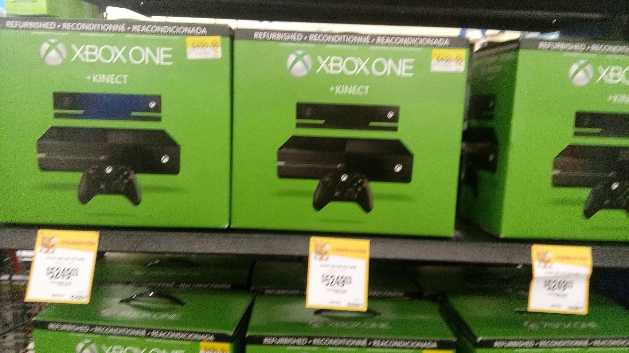 Walmart: Xbox One Ref con Kinect de $6,490 a $5,249.03, Walmart en línea: $5,799