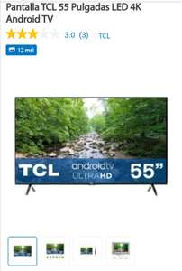 """Sam's Club: TCL 55"""" 4K ANDROID TV 55A423"""