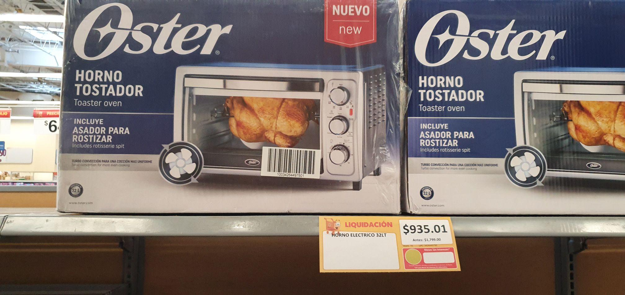 Walmart: Horno Tostador