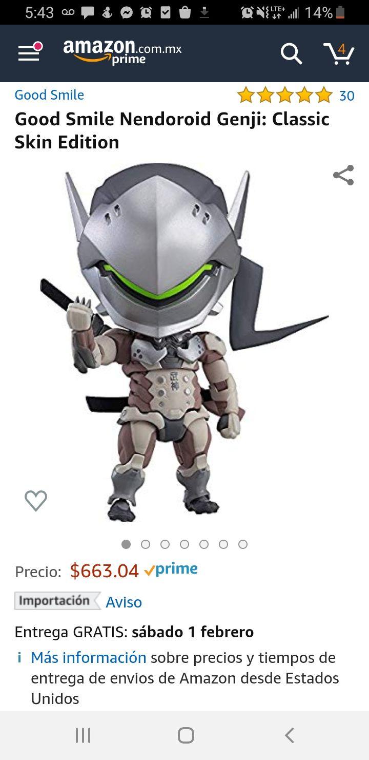 Amazon: Nendoroid de Genji/Overwatch