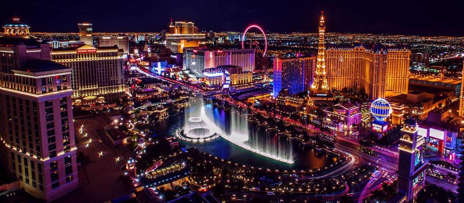 Vuelo redondo CDMX-Las Vegas (del 15 de febrero al 4 de marzo)