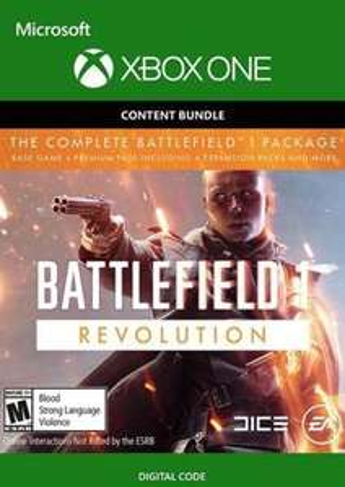 Cdkeys: Battlefield 1 Revolution & Battlefield 1943 Xbox One