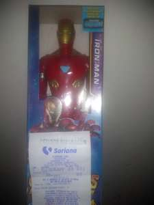 Soriana Mercado: Juguete Marvel Iron Man