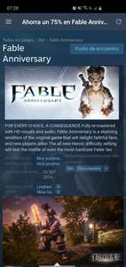 Steam: Fable Anniversary