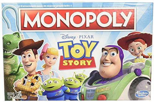 Amazon: Toy Story Monopoly Juego de Mesa para Toda la Familia