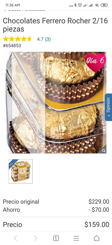 Costco Ferrero Rocher solo hoy