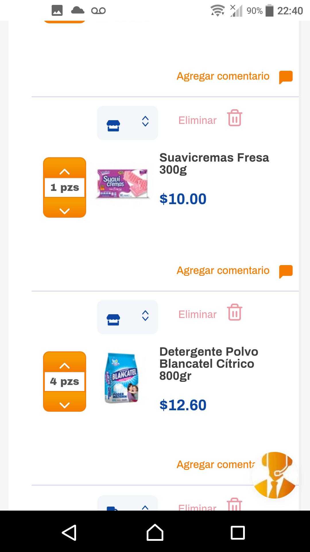 Chedraui: Detergente Blancatel $12.60