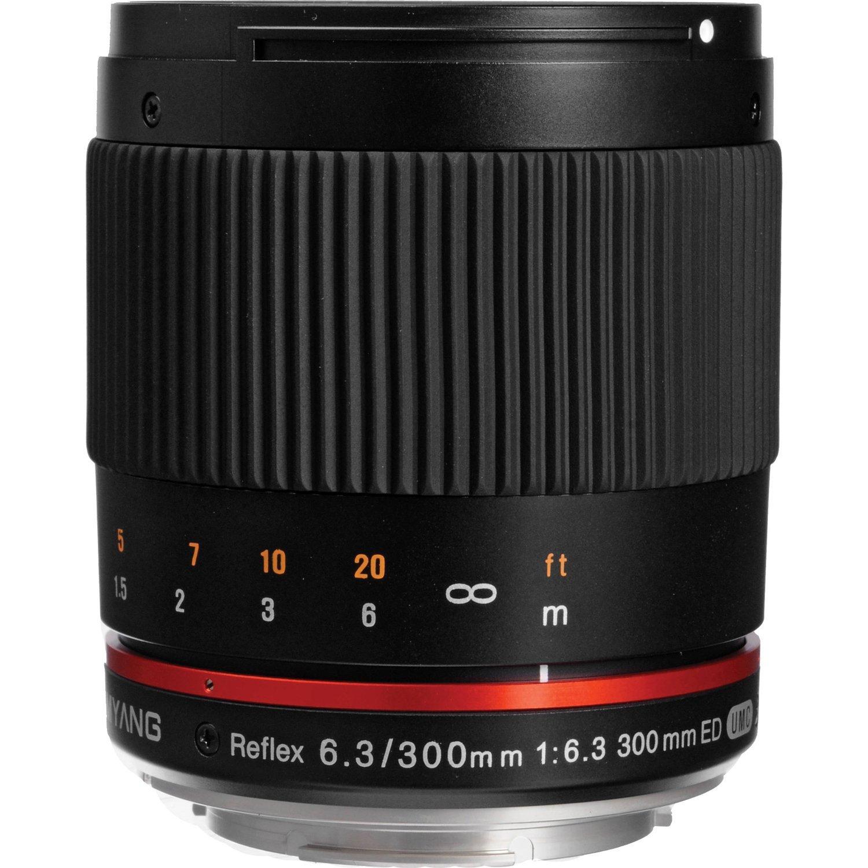 Amazon: Lente Samyang SY300M-M-BK 300mm Canon M