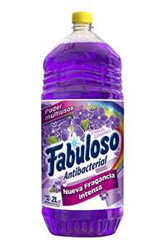 Amazon: Fabuloso Limpiador liquido fabuloso antibacterial lavanda multiusos 2 lt