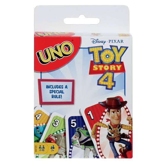 Walmart: Juego de cartas UNO versión Toy Story 4