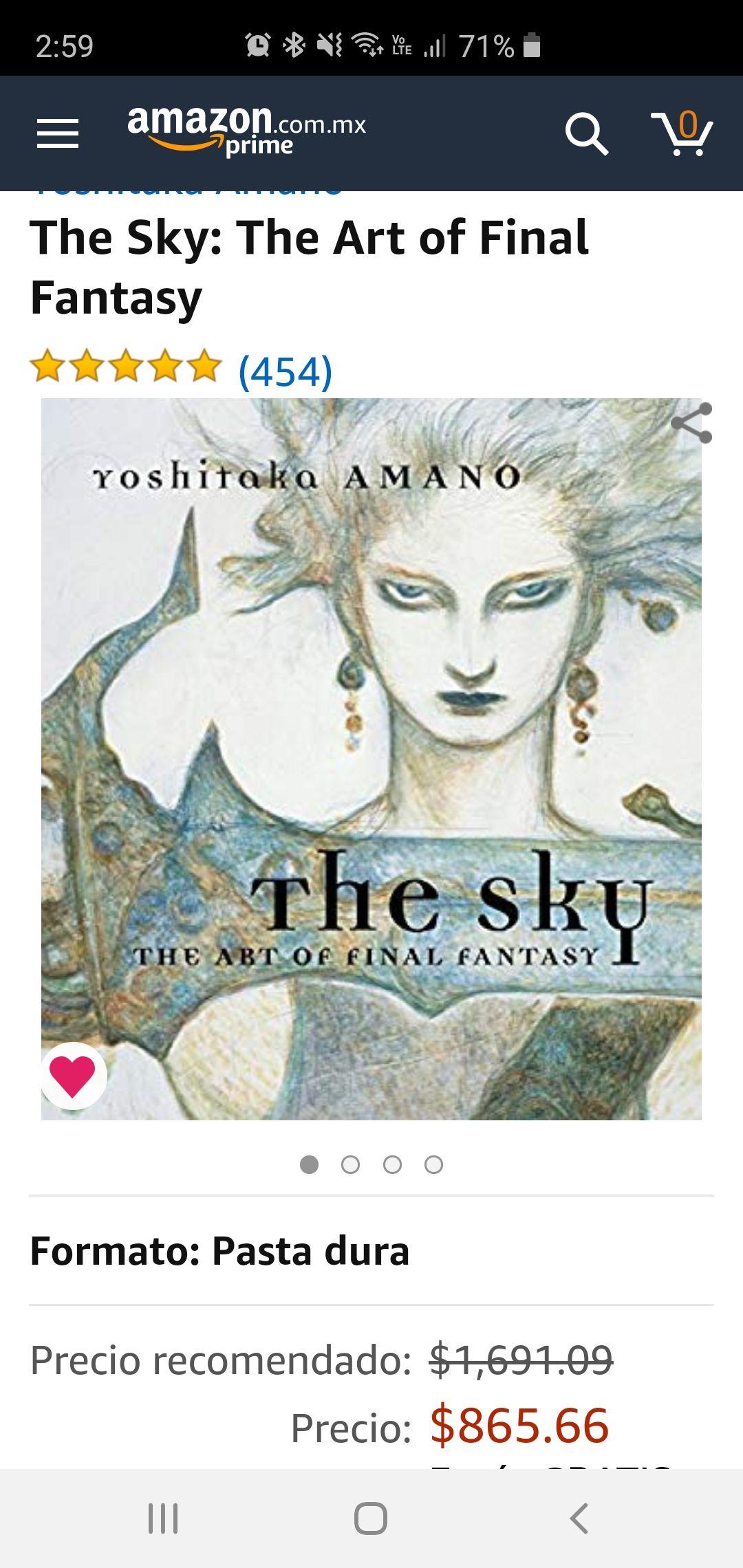 Amazon: The Sky: The Art of Final Fantasy