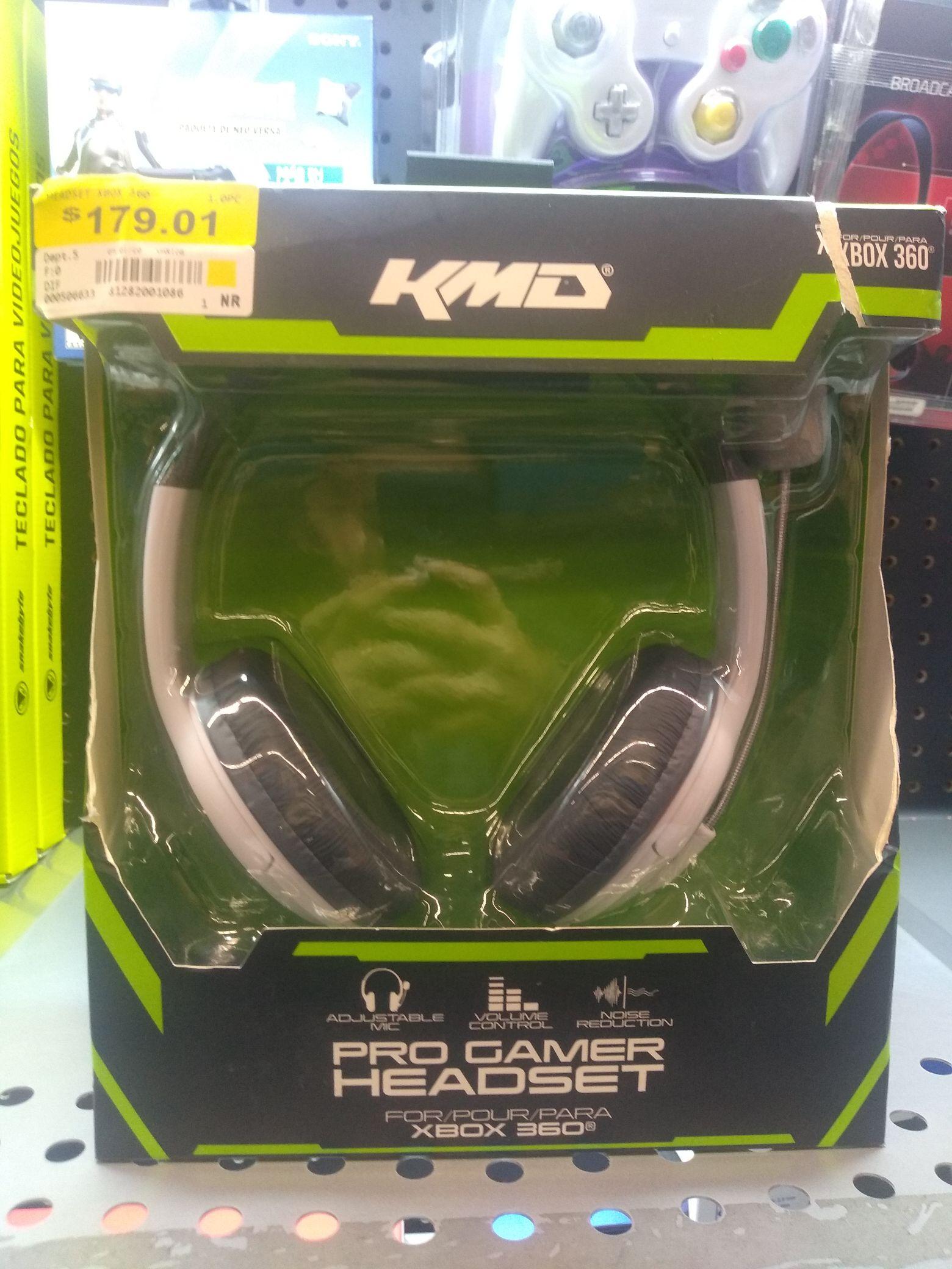 Walmart La antorcha león GTO: Pro Gamer Head Set Xbox