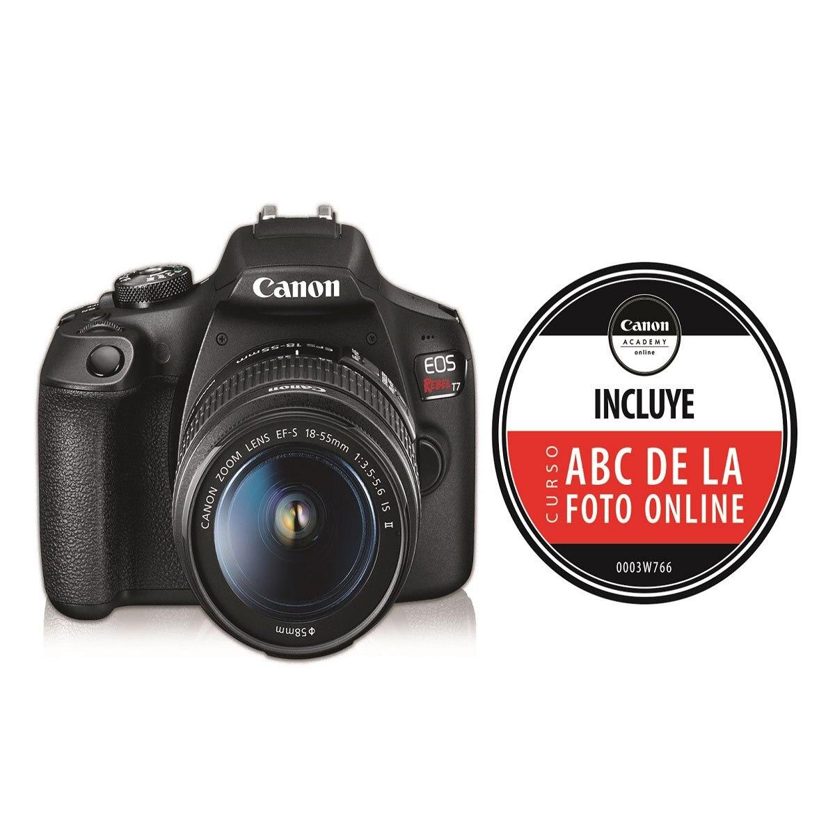 Sears: Canon T7 + lente 18-55mm IS II+ curso