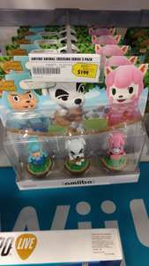 Best Buy: amiibo animal crossing 3 pack a $199