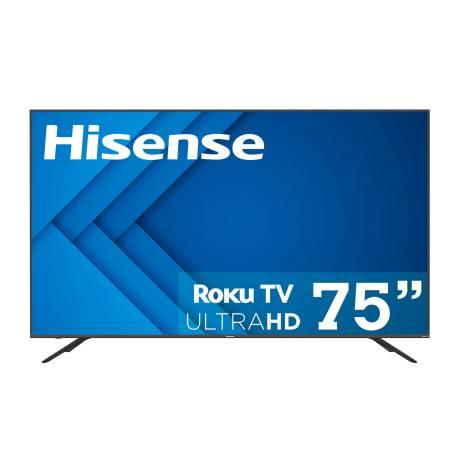 Sam's Club: Pantalla Hisense 75 Pulgadas LED 4K Roku TV