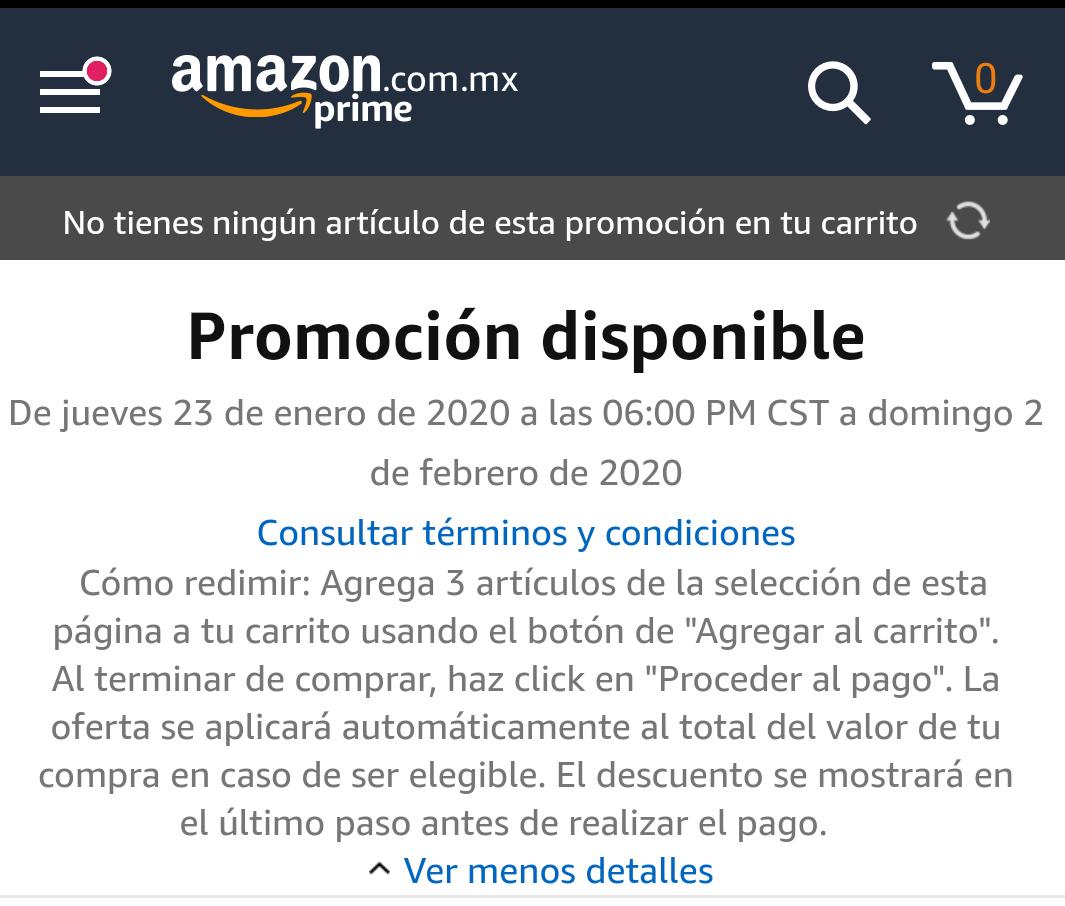 Amazon 25% de descuento al comprar 3 artículos de videojuegos participantes