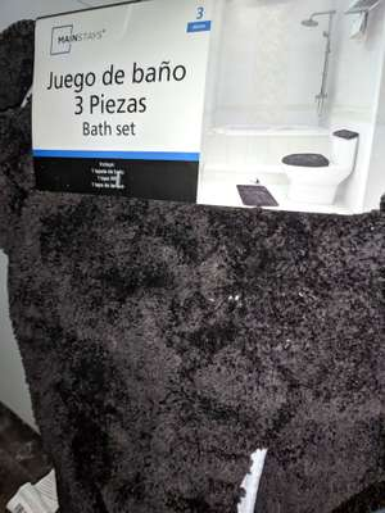 Bodega Aurrera: Juego de tapetes para baño