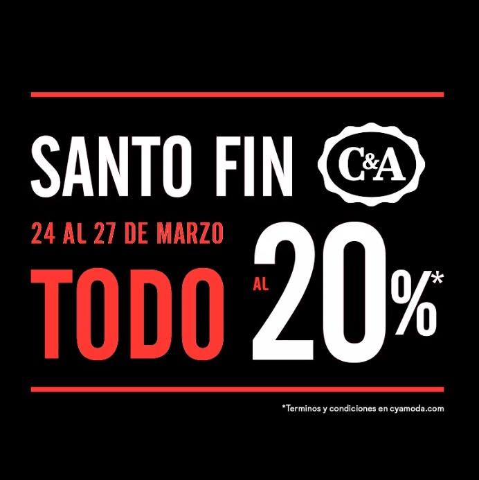 C&A: toda la tienda con 20% de descuento