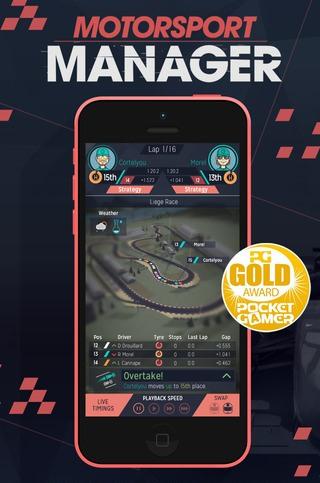 Appstore Motorsport Manager para iOS GRATIS por tiempo limitado
