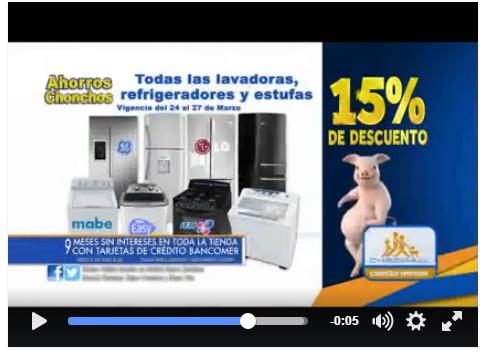 Chedraui: 15% de descuento en lavadoras, refrigeradores y estufas