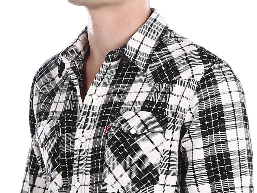 Liverpool en línea: Camisa Levi's Caballeros cuadros corte slim a $179