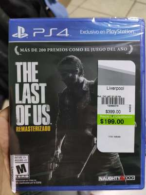 Liverpool: The last of us Playstation 4