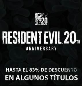 Steam: Resident Evil 20th Anniversary Sale