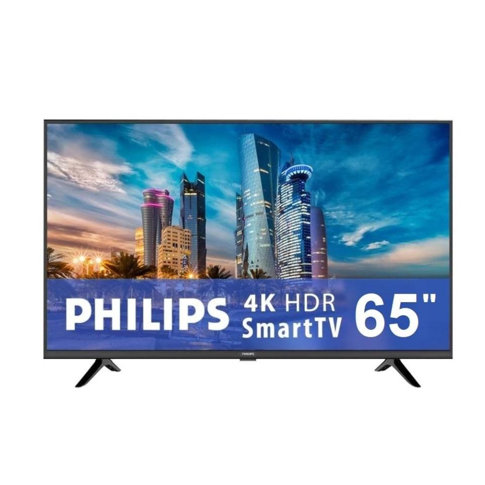 Walmart: TV Philips 65 Pulgadas 4K Ultra HD Smart TV 65PFL5504/F8