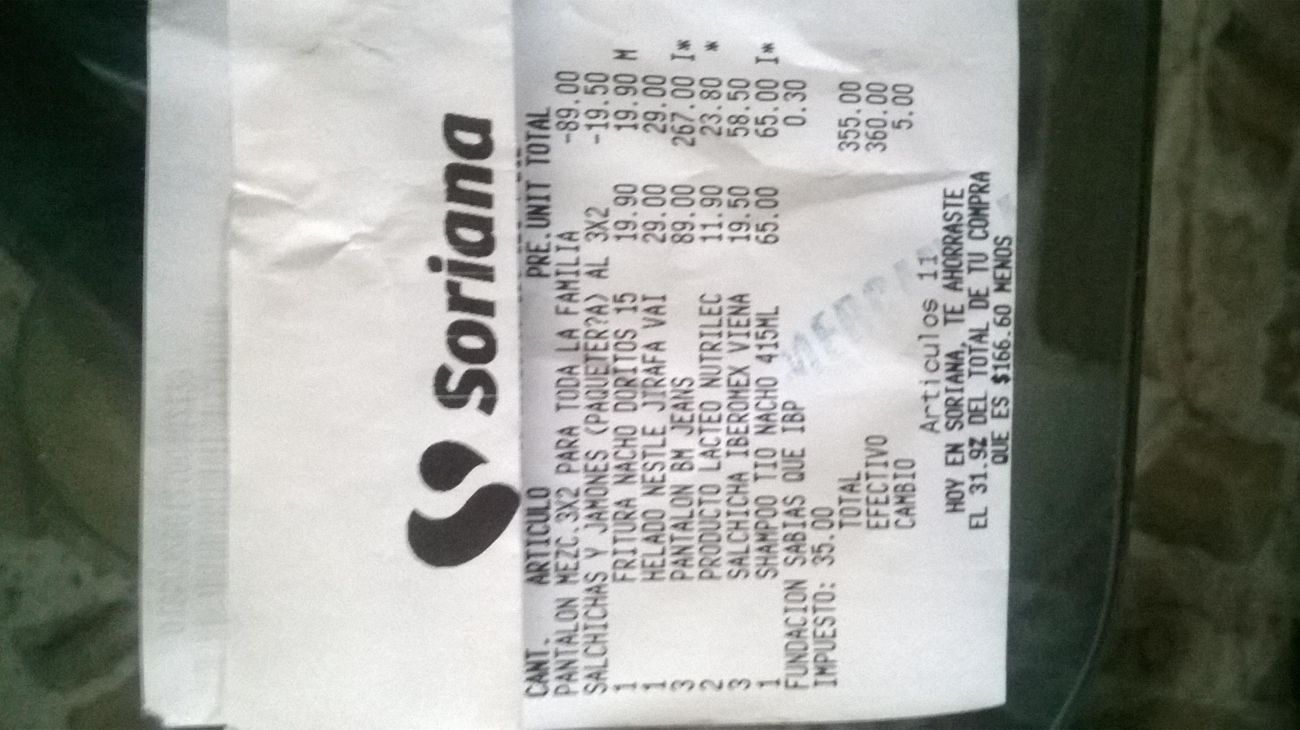 Mercado Soriana: 3x2 en pantalones de mezclilla
