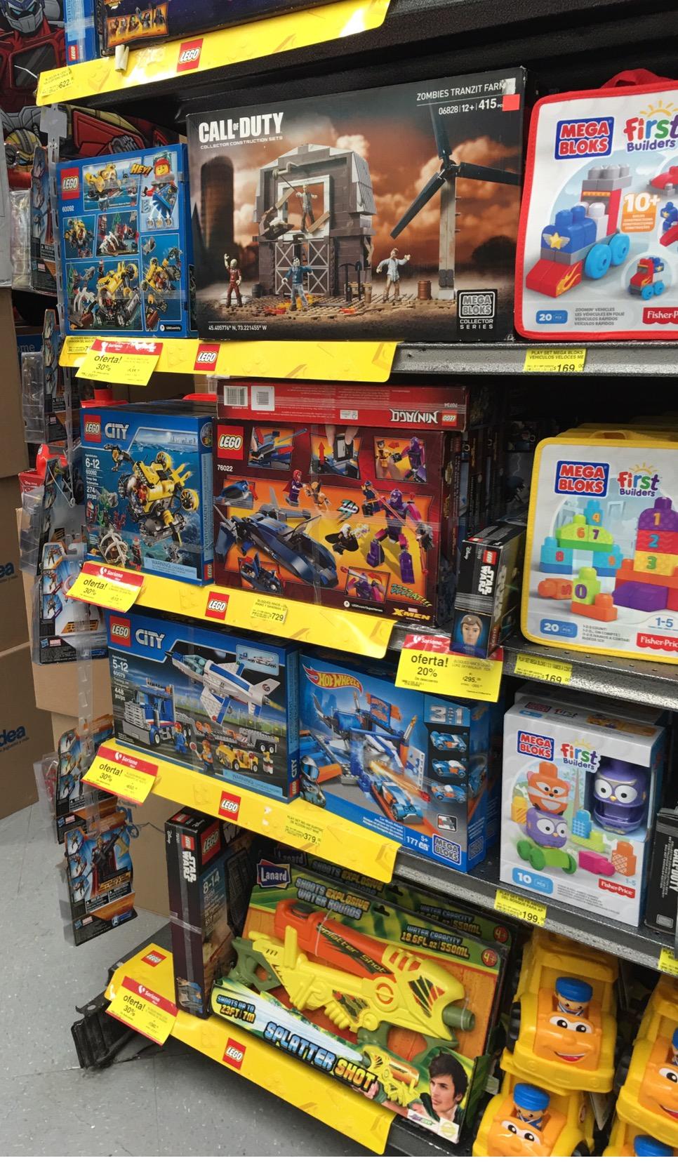 Soriana Hiper: Lego, Meccano y Playmobil con descuento del 30% al 50%
