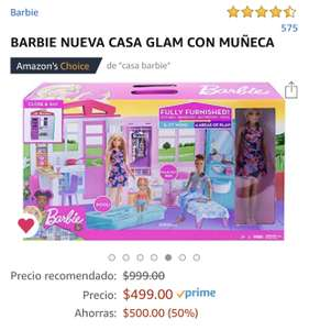 Amazon: Casa Glam Barbie